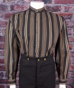 Black / Khaki stripe